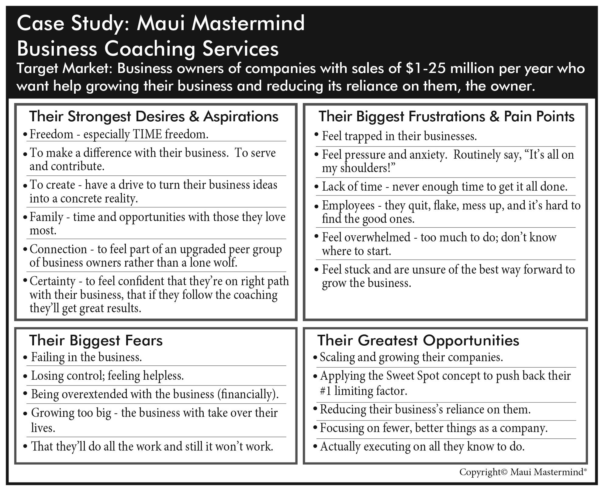 Case Study: Maui Mastermind