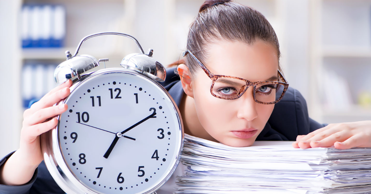 You Are Wasting 900 Hours a Year by Doing These 10 Things